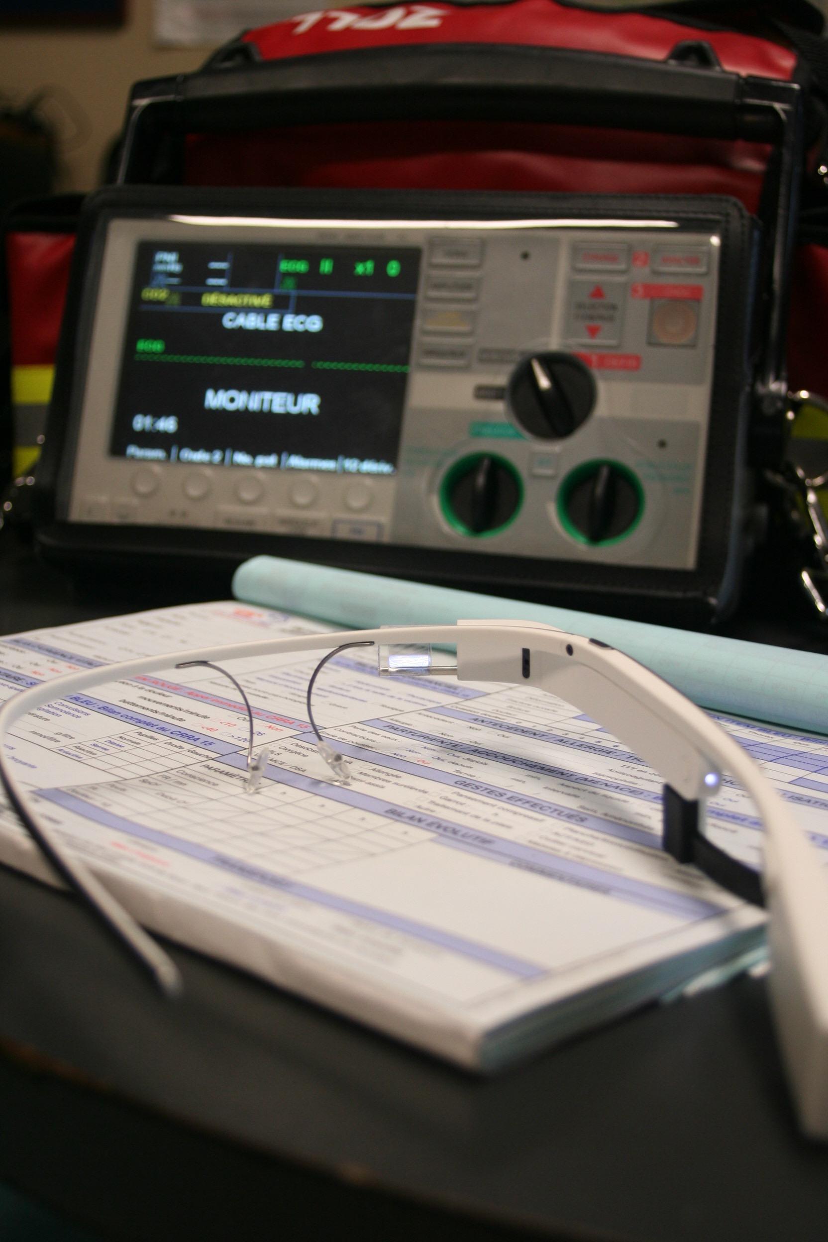 Les Google Glass et Assistance Ambulance nantes